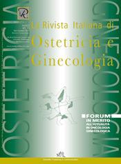 Copertina de La Rivista Italiana di Ostetricia e Ginecologia n. 15