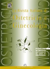 Copertina de La Rivista Italiana di Ostetricia e Ginecologia n. 19
