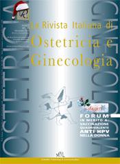 Copertina de La Rivista Italiana di Ostetricia e Ginecologia n. 20