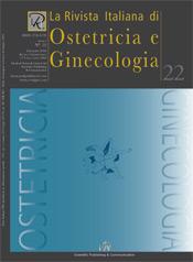 Copertina de La Rivista Italiana di Ostetricia e Ginecologia n. 22
