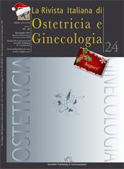 Copertina de La Rivista Italiana di Ostetricia e Ginecologia n. 24
