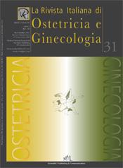 Copertina de La Rivista Italiana di Ostetricia e Ginecologia n. 31